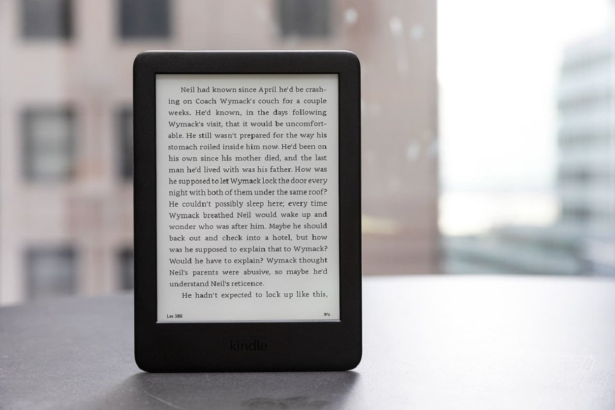 AMAZON NEW KINDLE BETTER FOR YOUR EYES