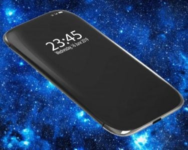 Phone with a 4-sided curved display patented by Samsung