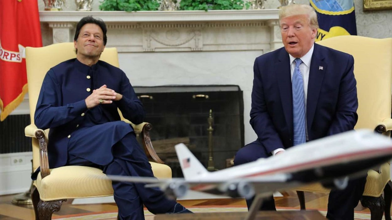 Big Talk went down, PM Khan meets with President Trump in Washington