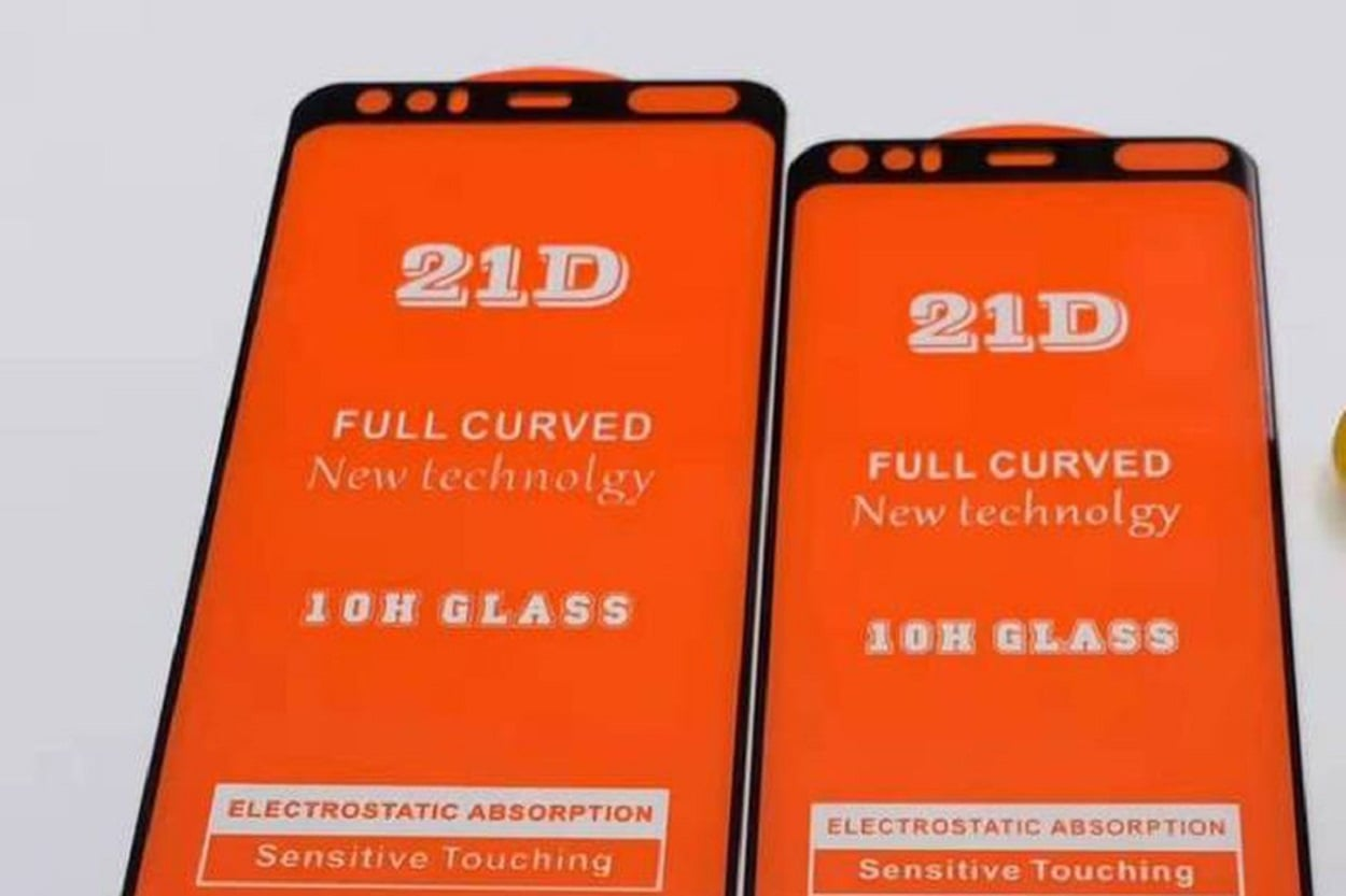 Screen leak for the Pixel 4 showcases a large forehead bezel