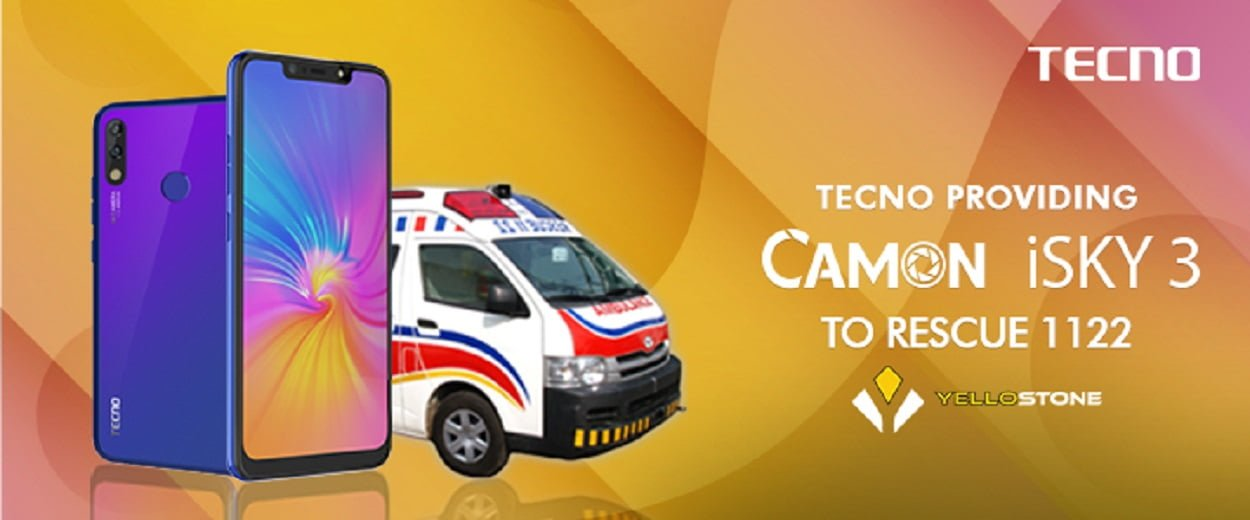 TECNO TO PROVIDE CAMON i SKY3 TO THE PUNJAB EMERGENCY RESCUE SERVICEMEN (RESCUE 1122)