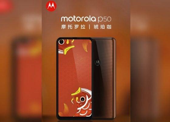 Motorola P50 to launch this week