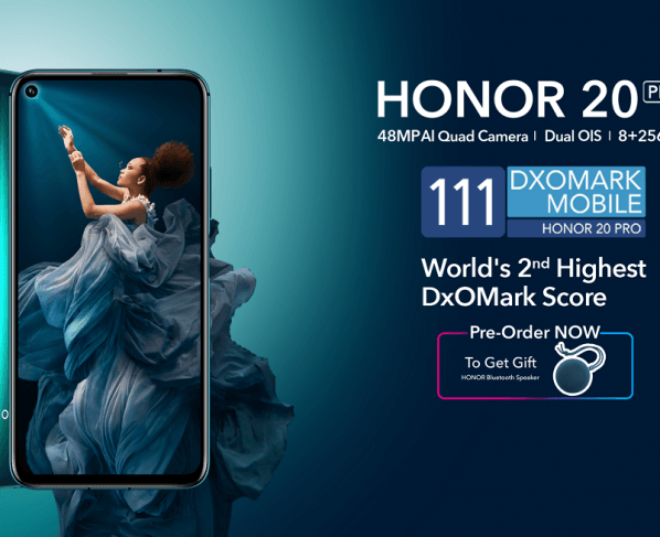 HONOR Unveils Flagship Smartphone HONOR 20 Pro – Now Available for Pre Booking