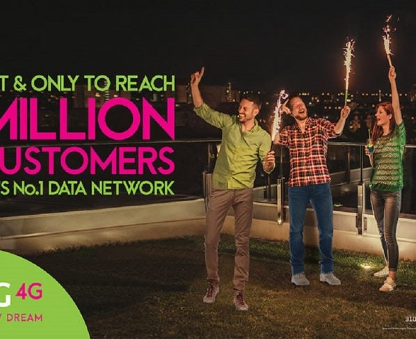 Zong has upwards of 12Million 4G subscribers in Pakistan which is a great feat