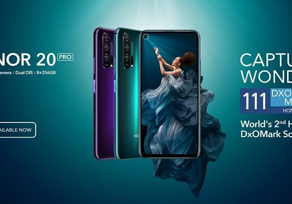 Most Anticipated Smartphone of the Season - HONOR 20 PRO Now Available