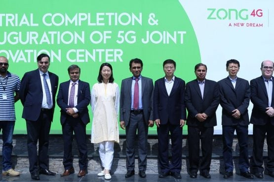 Federal Minister for Information Technology and Telecommunication tests Pakistan's first 5G services at Zong HQ