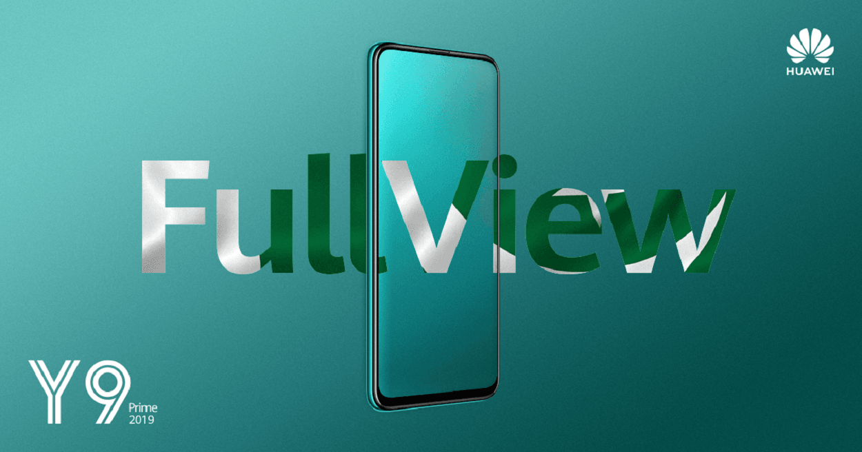 With the Emerald Green HUAWEI Y9 Prime 2019, #Embracethe