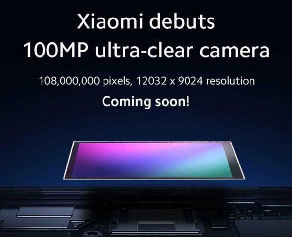 Xiaomi tease a phone with a 108MP camera