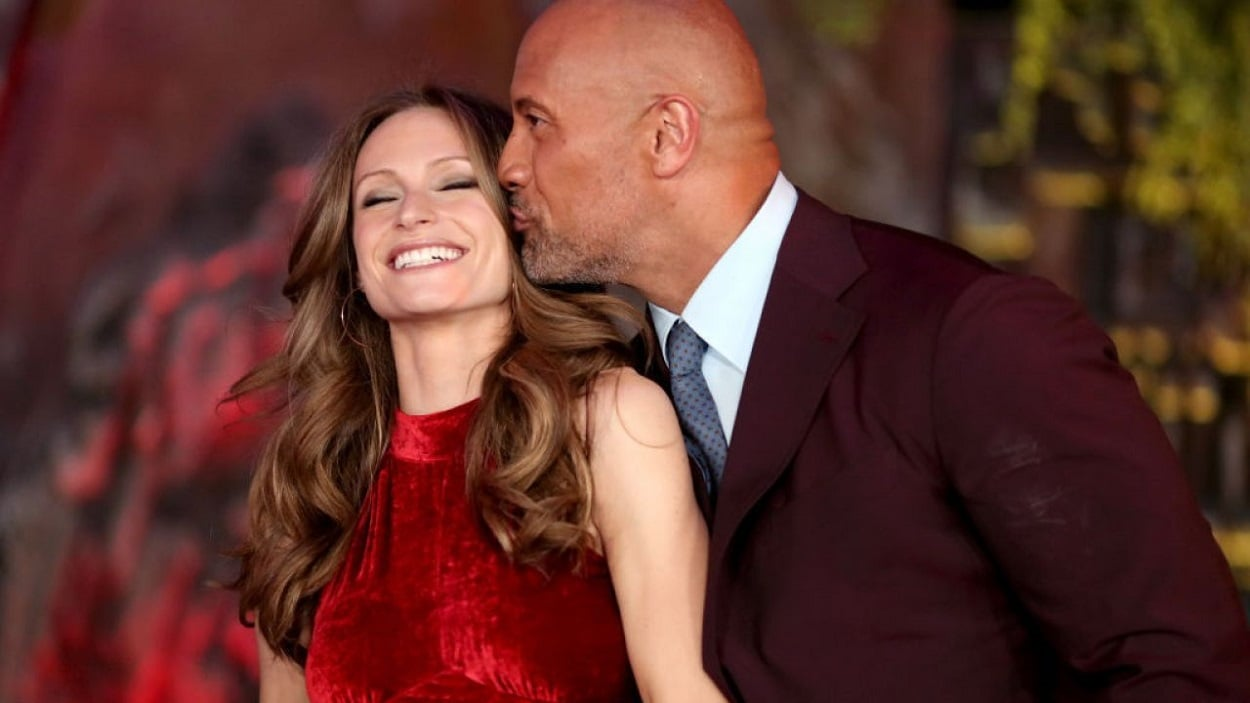The Rock marries with long-time partner Lauren Hashnian