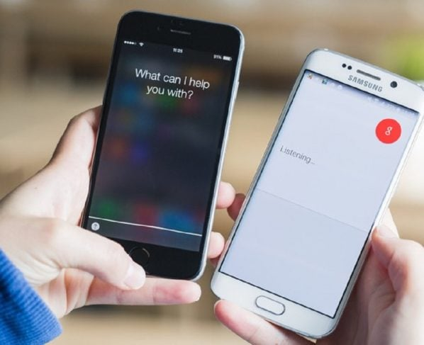 You could get scammed if you make call with either Siri or Google
