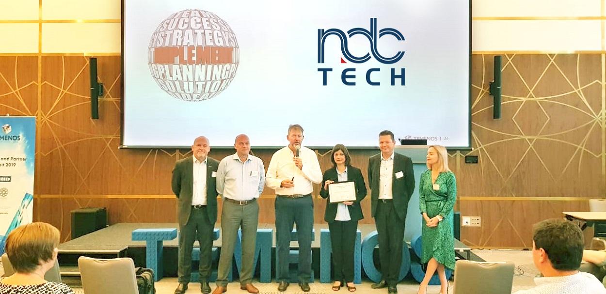 NdcTech wins 2019 Temenos Best Implementation Award – Middle East