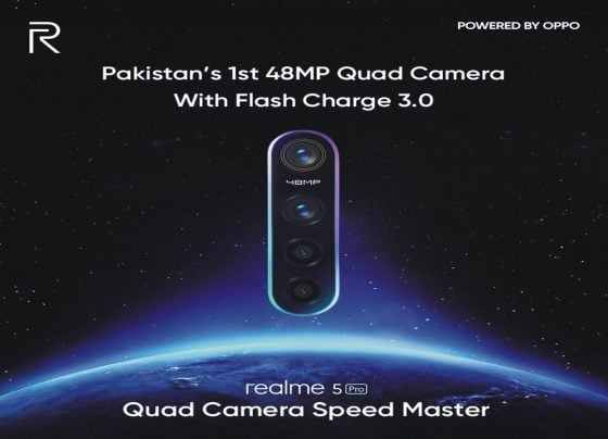 Realme 5, Realme 5 Pro with Quad Cameras to Launch in Pakistan, on October 2nd