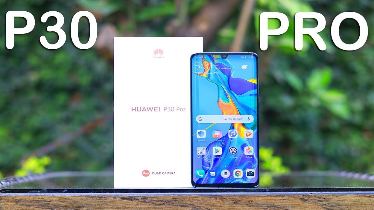 Huawei P30 Pro on the reviving end of EMUI 10 beta and new colors