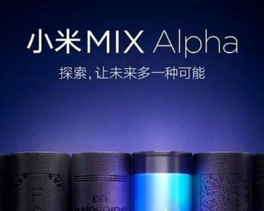 XIAOMI STEPPING IT UP WITH MI MIX ALPHA?