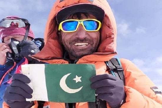 Ali Sadpara becomes first Pakistani to scale 8 peaks of above 8000m Altitude