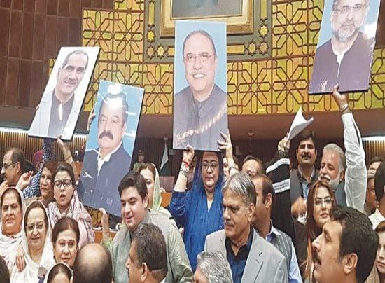 OPPOSITION GOVT UNITED ON KASHMIR ISSUE FRONT