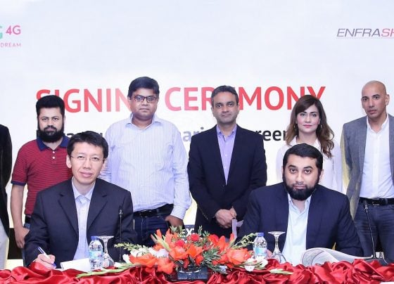 Zong 4G partners with Enfrashare to expand network