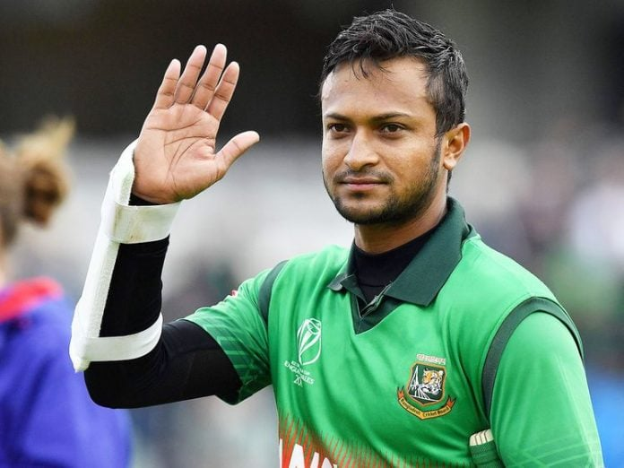 Bangladeshi All-rounder Shakib Al Hassan banned for two years