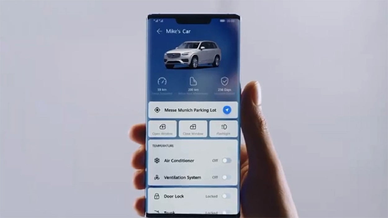 Huawei HiCar will let you control your car with your smartphone