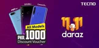 TECNO offers exceptional discounts on Daraz Gyara Gyara