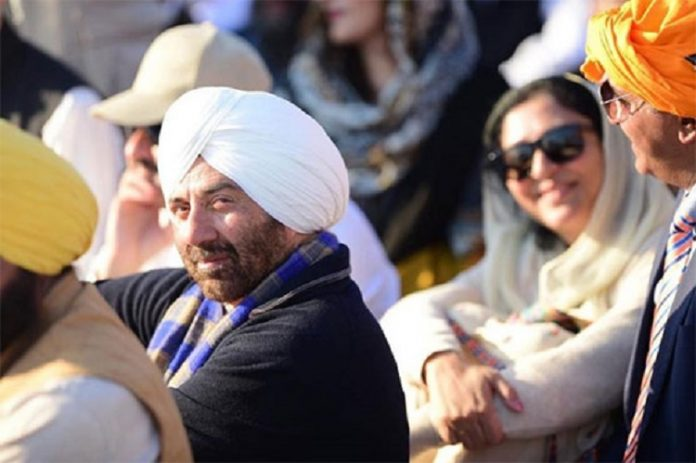 SUNNY DEOL TO VISIT PAKISTAN ATTENDING THE KARTPARPUR CORRIDOR INAUGRATION