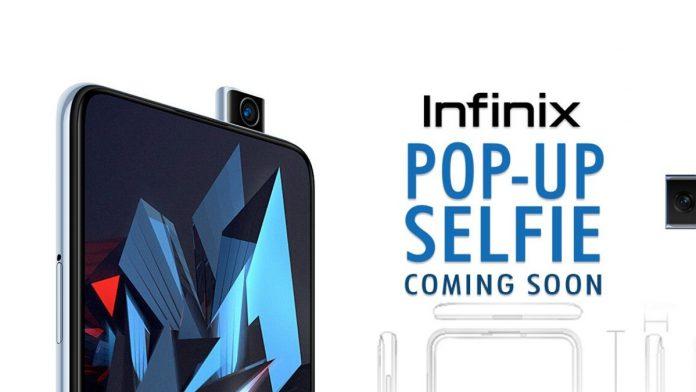 Infinix Pop-up camera phones