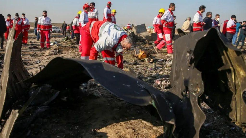 Irans tunes on the plane crash