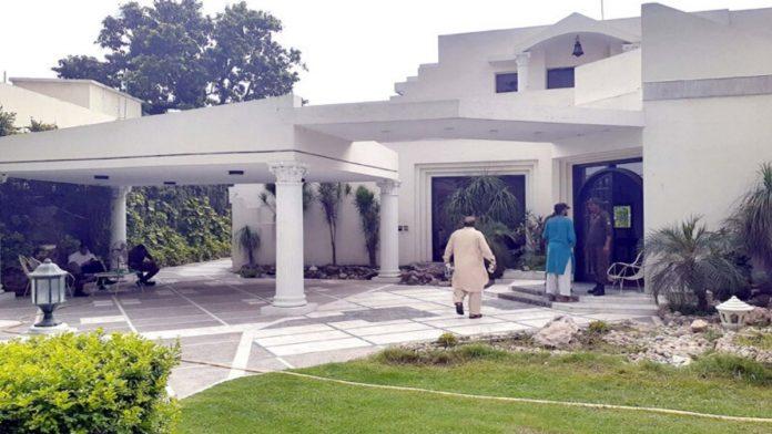 Ishaq Dar's house