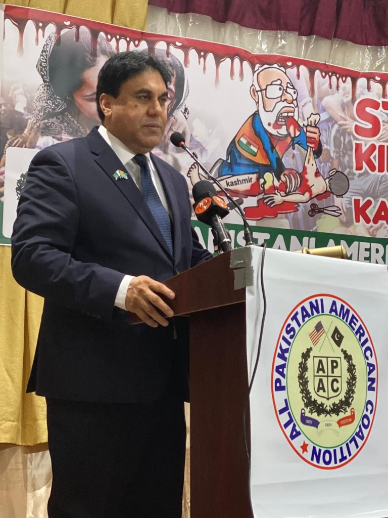Kashmir Solidarity Day in New York
