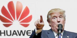 Donald Trump Huawei Google