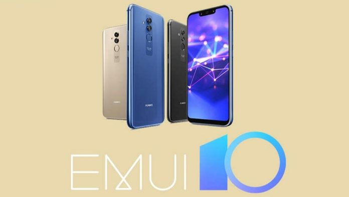 Mate 20 Lite EMUI 10 update
