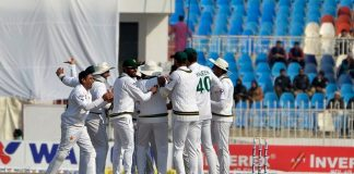 Pakistan win first Test