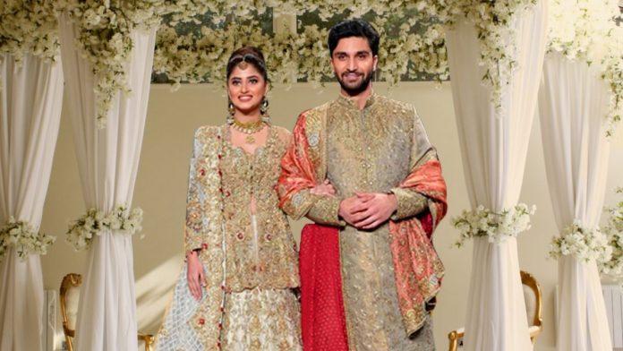 Sajal Aly and Ahad Raza
