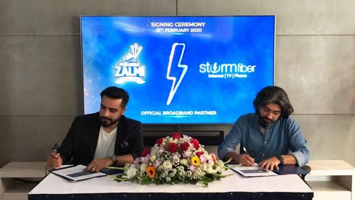 StormFiber with Peshawar Zalmi