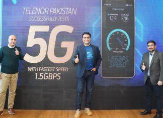 Telenor Pakistan empowering successful5G