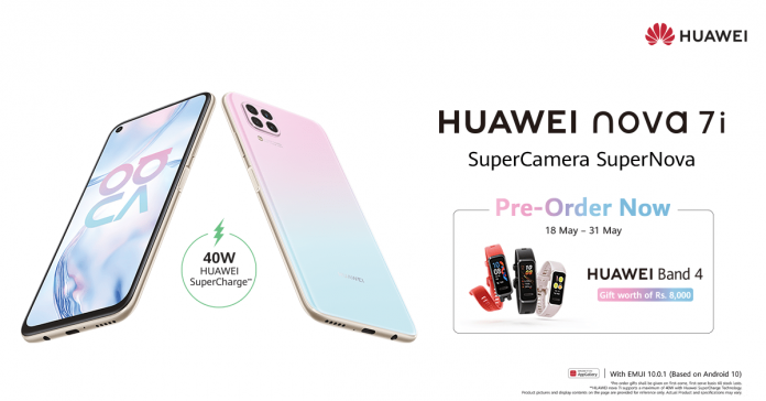 With Unmatched Features and Blazing Fast Performance, HUAWEI Nova 7i Opens for Pre-orders in Pakistan