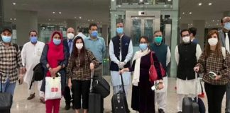 Students Stranded In Wuhan Return To Pakistan, Quarantined For 48 hours