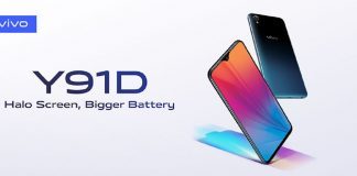 vivo Launches the Affordable Y91D with Halo Display & Bigger Battery