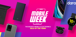 Aiming to revive economic activity in the country, Daraz launches Mobile Week from 15th June - 21st June 2020