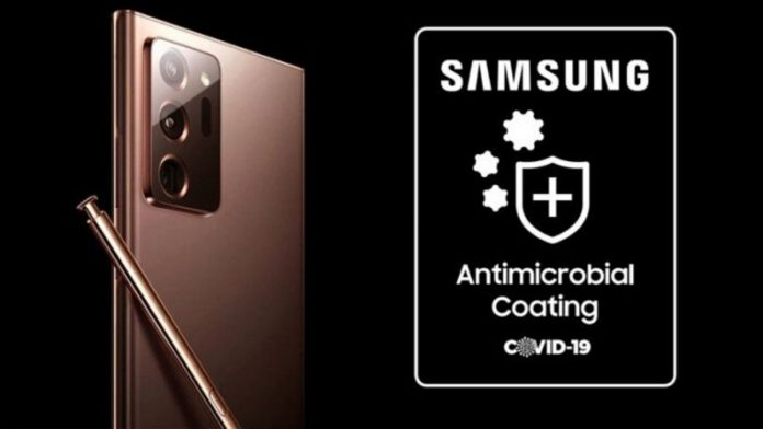 Samsung antimicrobial