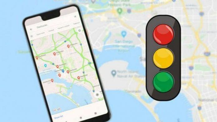 Traffic Lights on Google