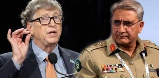 Bajwa Discusses Pakistan's Covid Tackling Techniques With Bill Gates