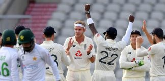 England Triumph Over Pakistan In First Test