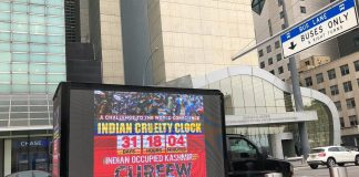 New York Participates In Highlighting Indian Atrocities on Kashmiris