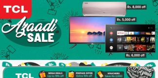 TCL and Daraz Brings Jashn-e-Azadi Sale Gala with Huge Discounts