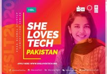 CIRCLE introduces She Loves Tech Pakistan 2020