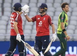 England T20 series