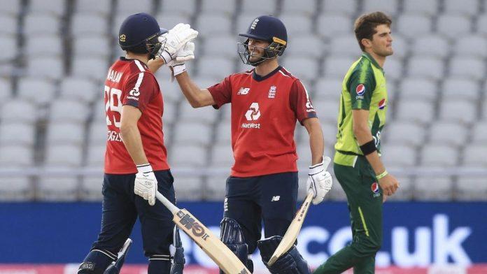 England T20 series