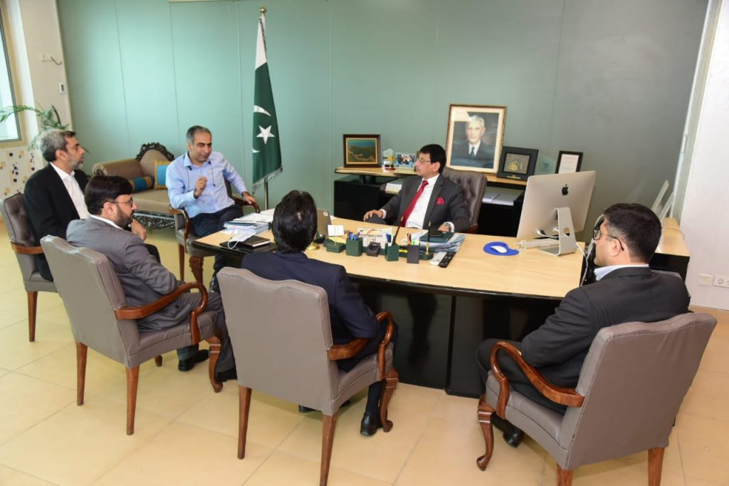 Federal Minister for IT Syed Amin Ul Haque lauds Byonyks for developing bloodless kidney dialysis machine