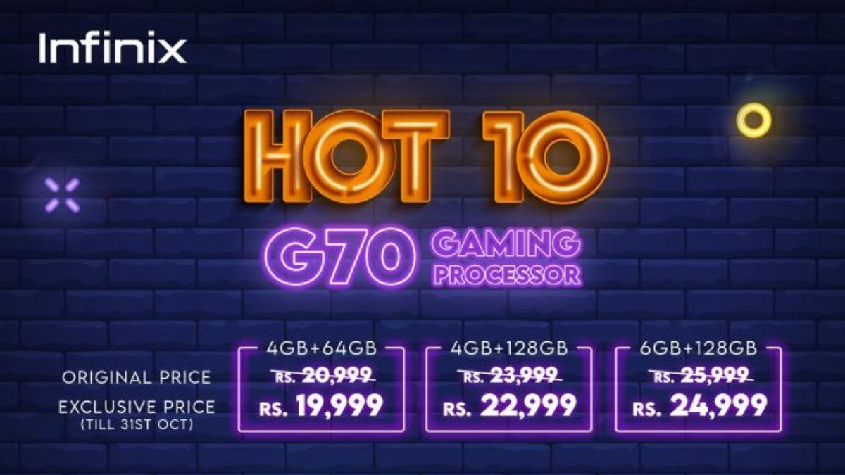 Infinix Hot 10 is available